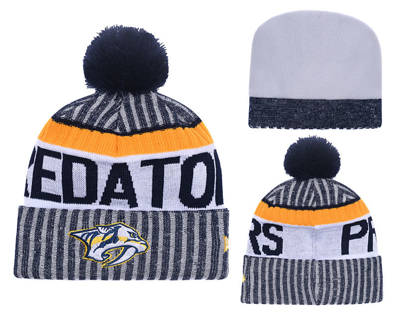 Predators Team Logo Knit Hat YD