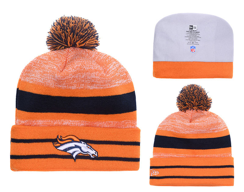 Broncos Team Logo Knit Hat YD