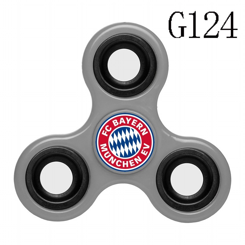Bayern Munich Team Logo Gray 3 Way Fidget Spinner