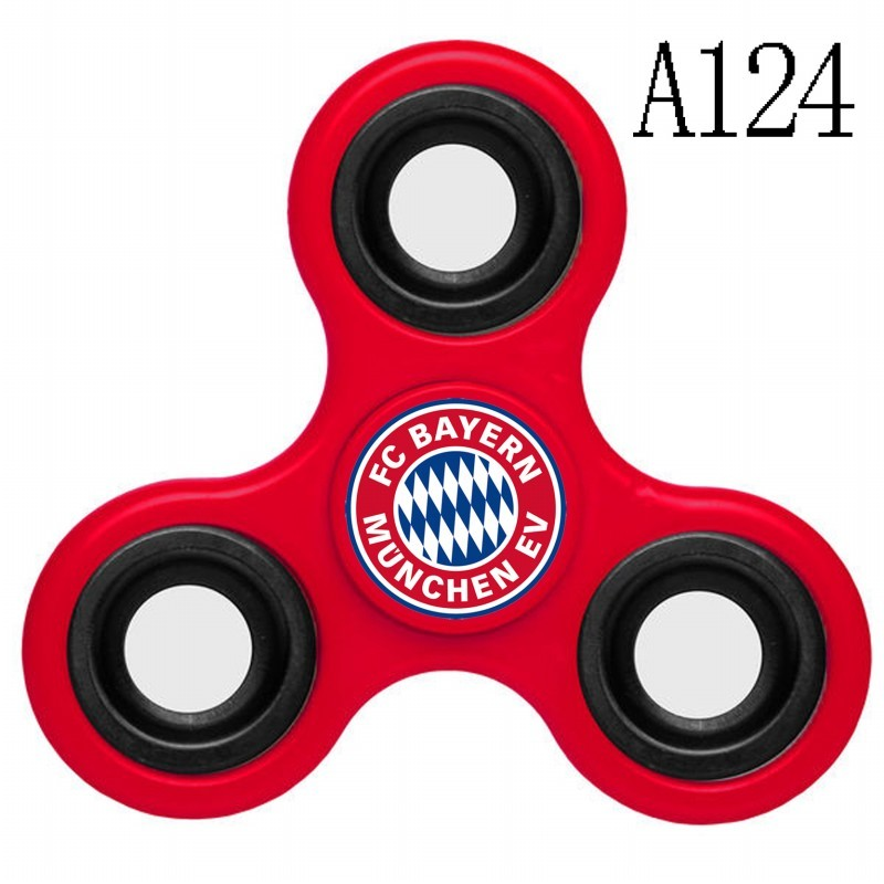 Bayern Munich Team Logo Red 3 Way Fidget Spinner