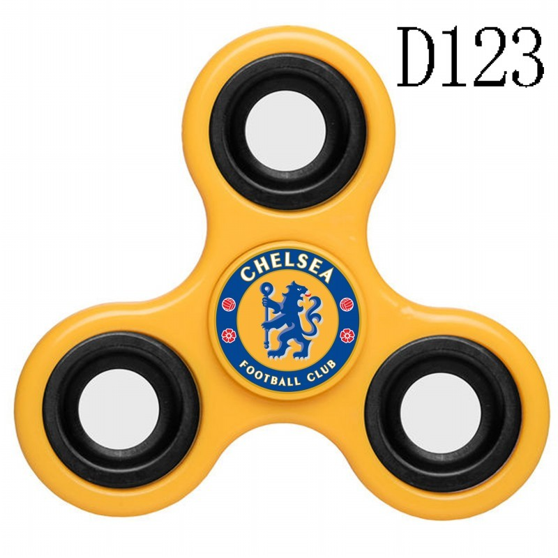 Chelsea Team Logo Yellow 3 Way Fidget Spinner