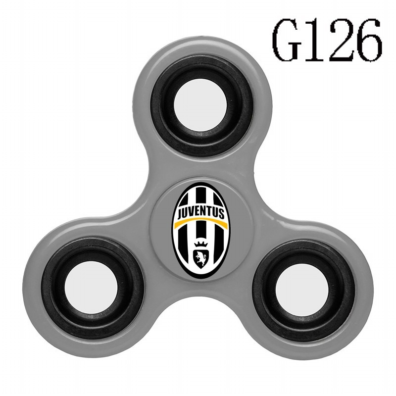 Juventus Team Logo Gray 3 Way Fidget Spinner