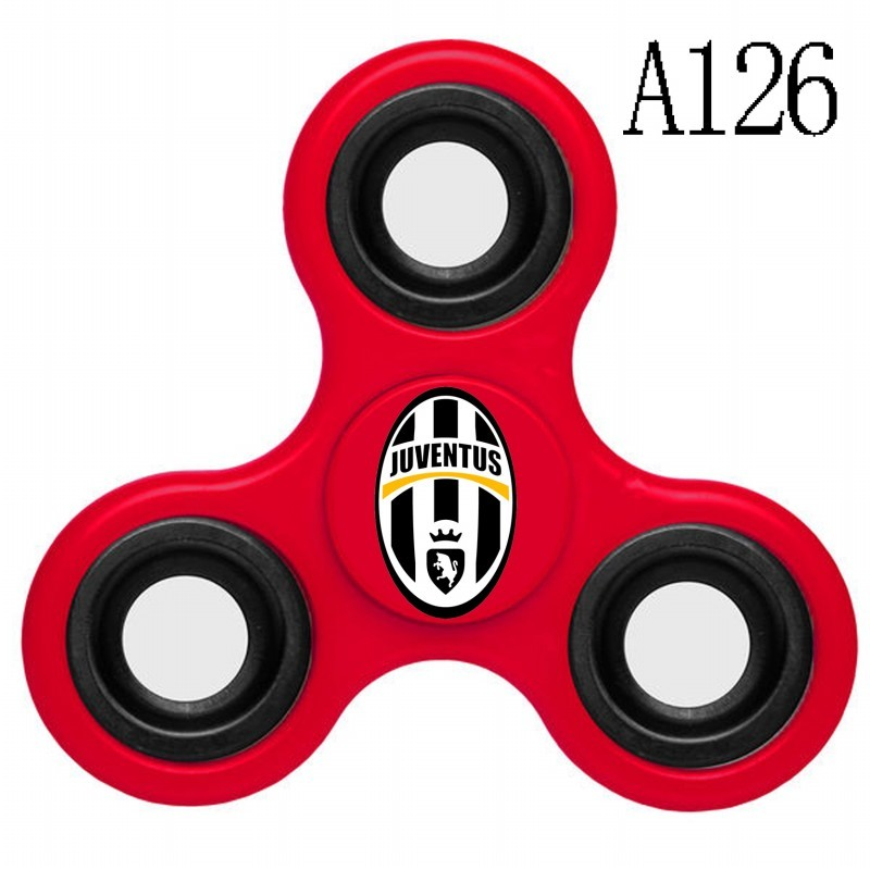 Juventus Team Logo Red 3 Way Fidget Spinner