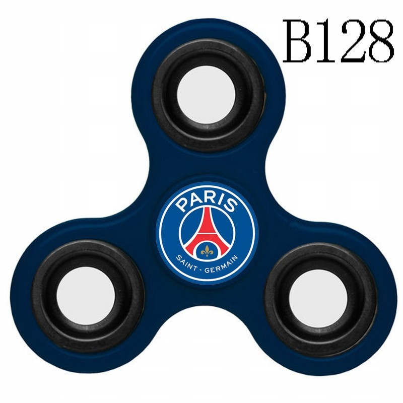 Paris Saint-Germain Team Logo Navy 3 Way Fidget Spinner