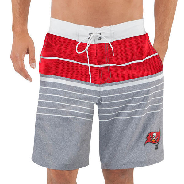 Tampa Bay Buccaneers NFL G-III Balance Men's Boardshorts Swim Trunks