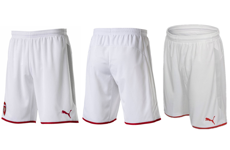 2017-18 Arsenal Home Soccer Shorts