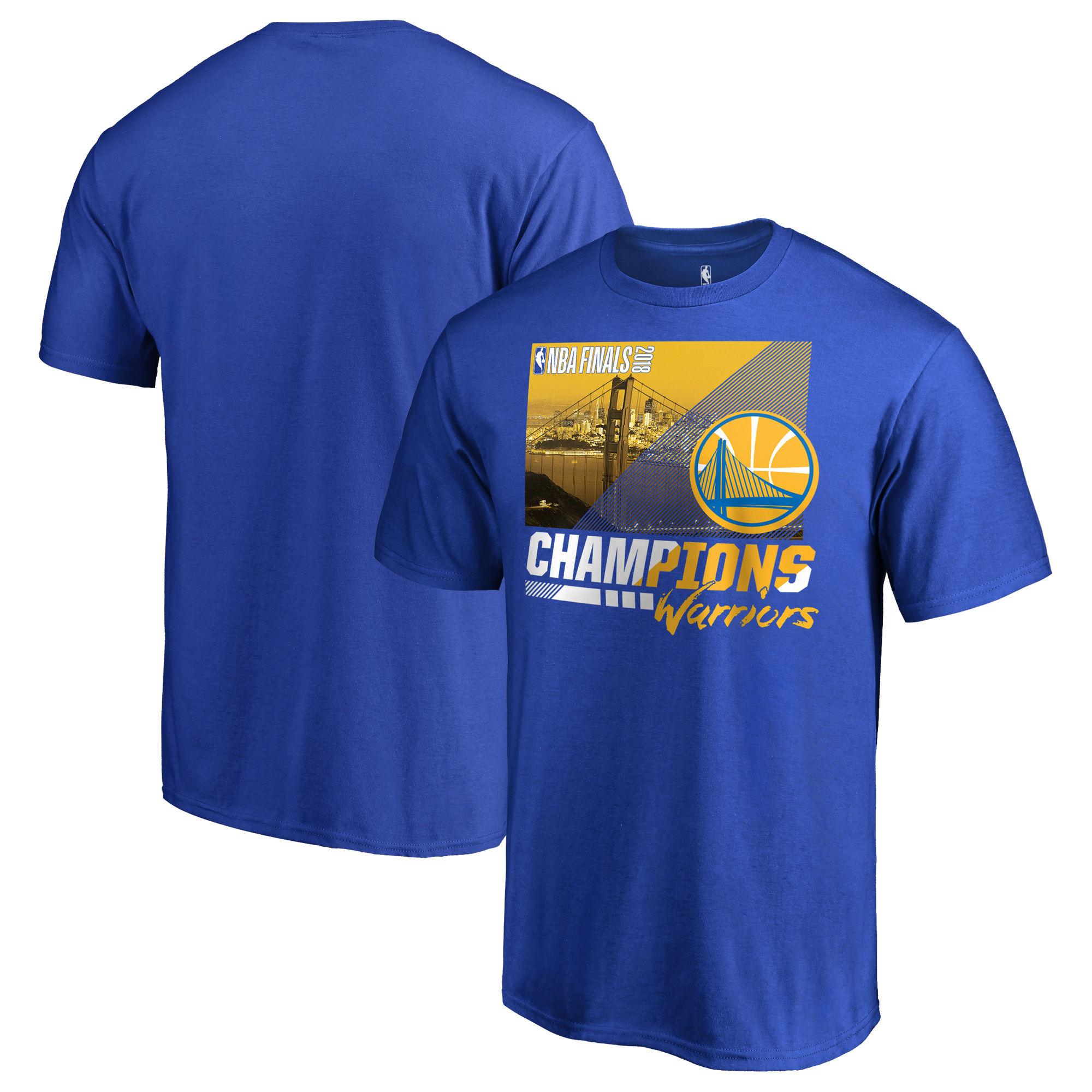 Golden State Warriors Fanatics Branded 2018 NBA Finals Champions Notorious Hometown City T-Shirt Royal