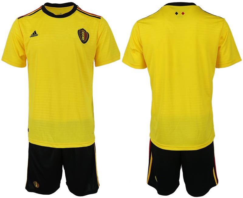 Belgium Away 2018 FIFA World Cup Soccer Jersey