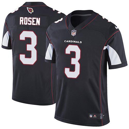 Nike Cardinals 3 Josh Rosen Black Alternate Youth Vapor Untouchable Limited Jersey