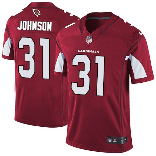 Nike Cardinals 31 David Johnson Red Youth Vapor Untouchable Limited Jersey
