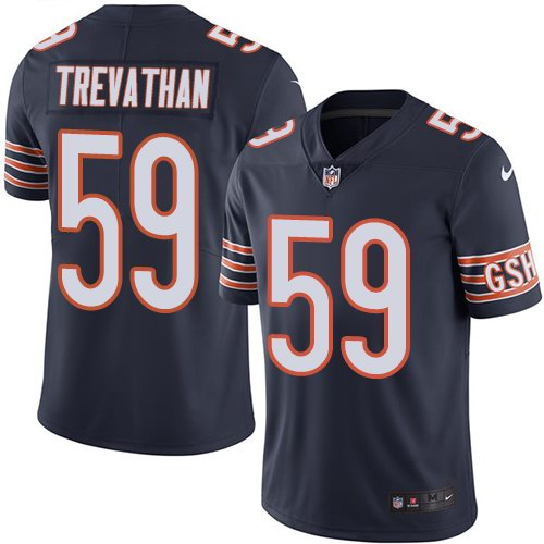 Nike Bears 59 Danny Trevathan Navy Youth Vapor Untouchable Limited Jersey