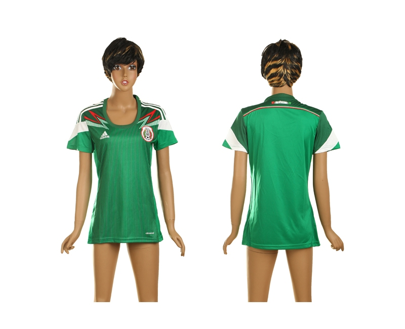 Mexico World Cup Home Soccer Women Jerseys