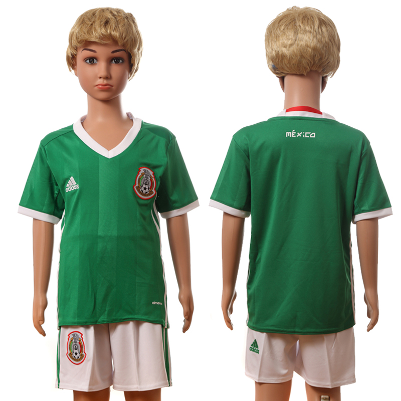 2016-17 Mexico Home Youth Jersey