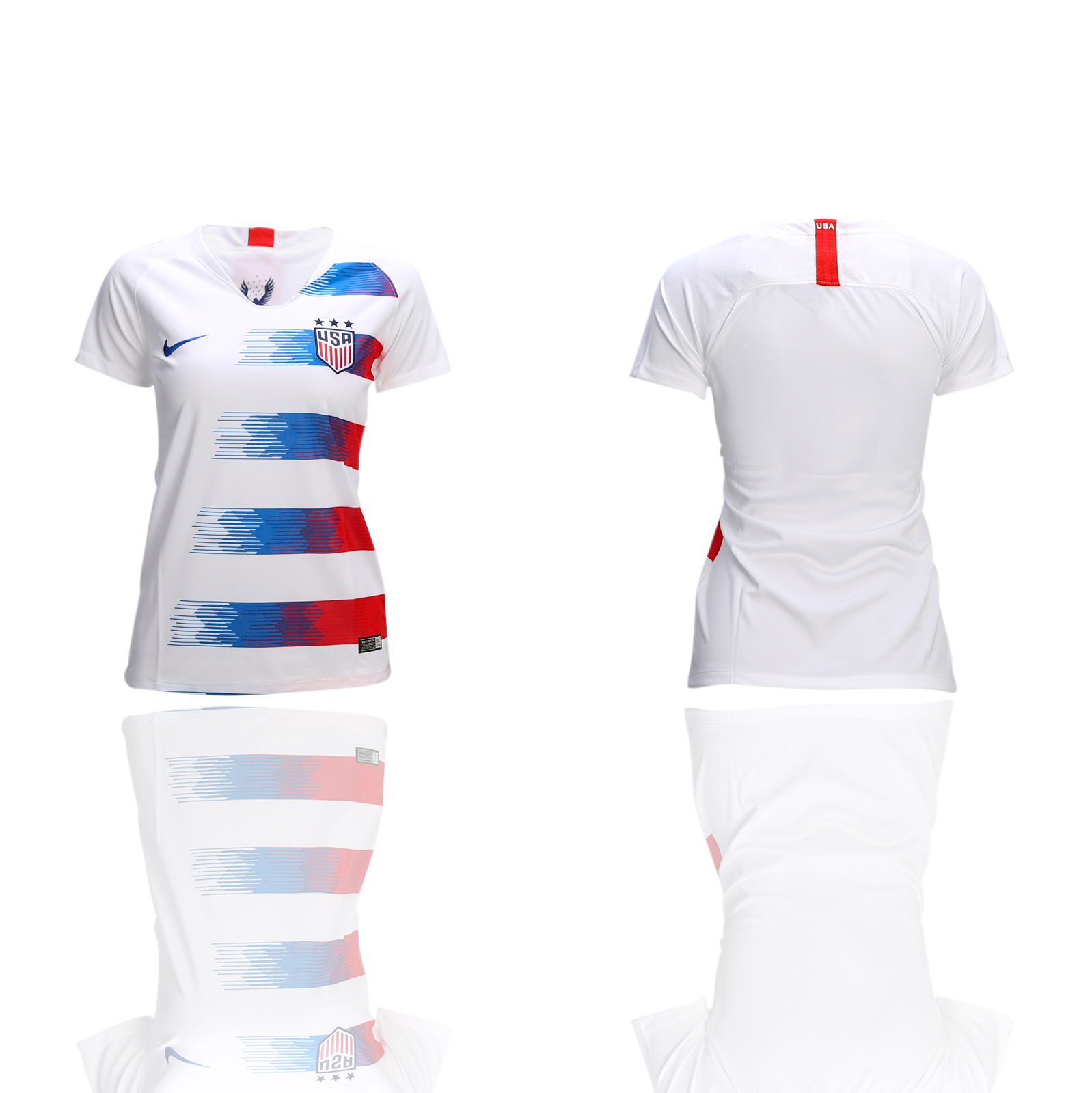 2018-19 America Away Women Soccer Jersey