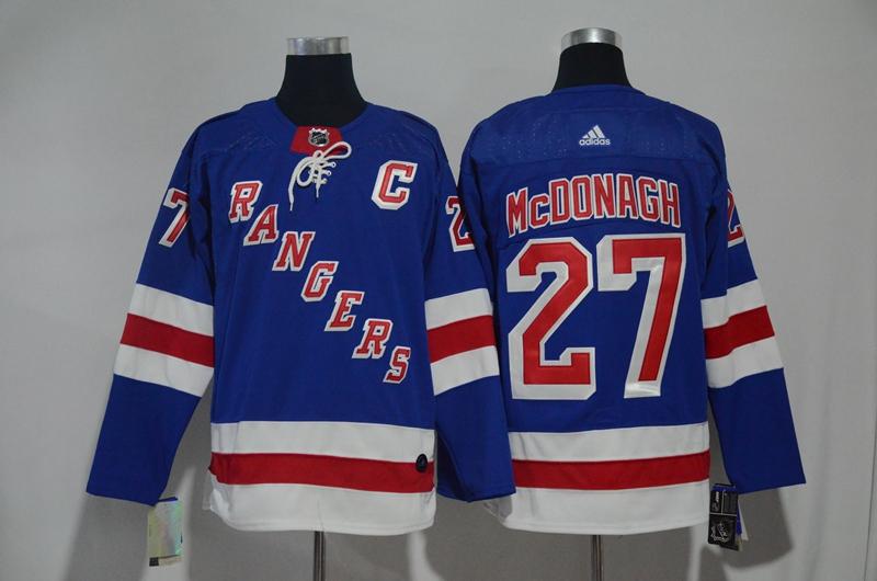 Rangers 27 Ryan McDonagh Blue Adidas Jersey