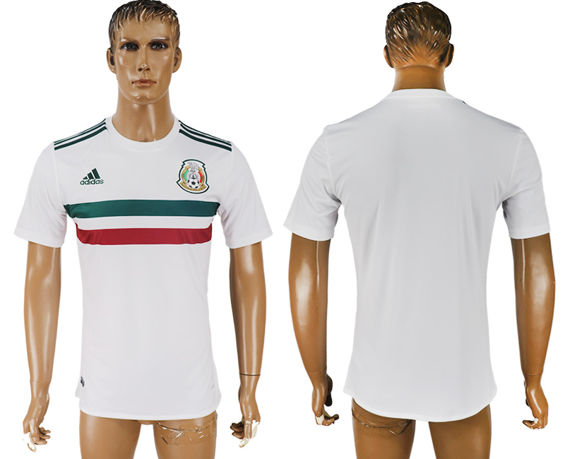 Mexico Away 2018 FIFA World Cup Thailand Soccer Jersey