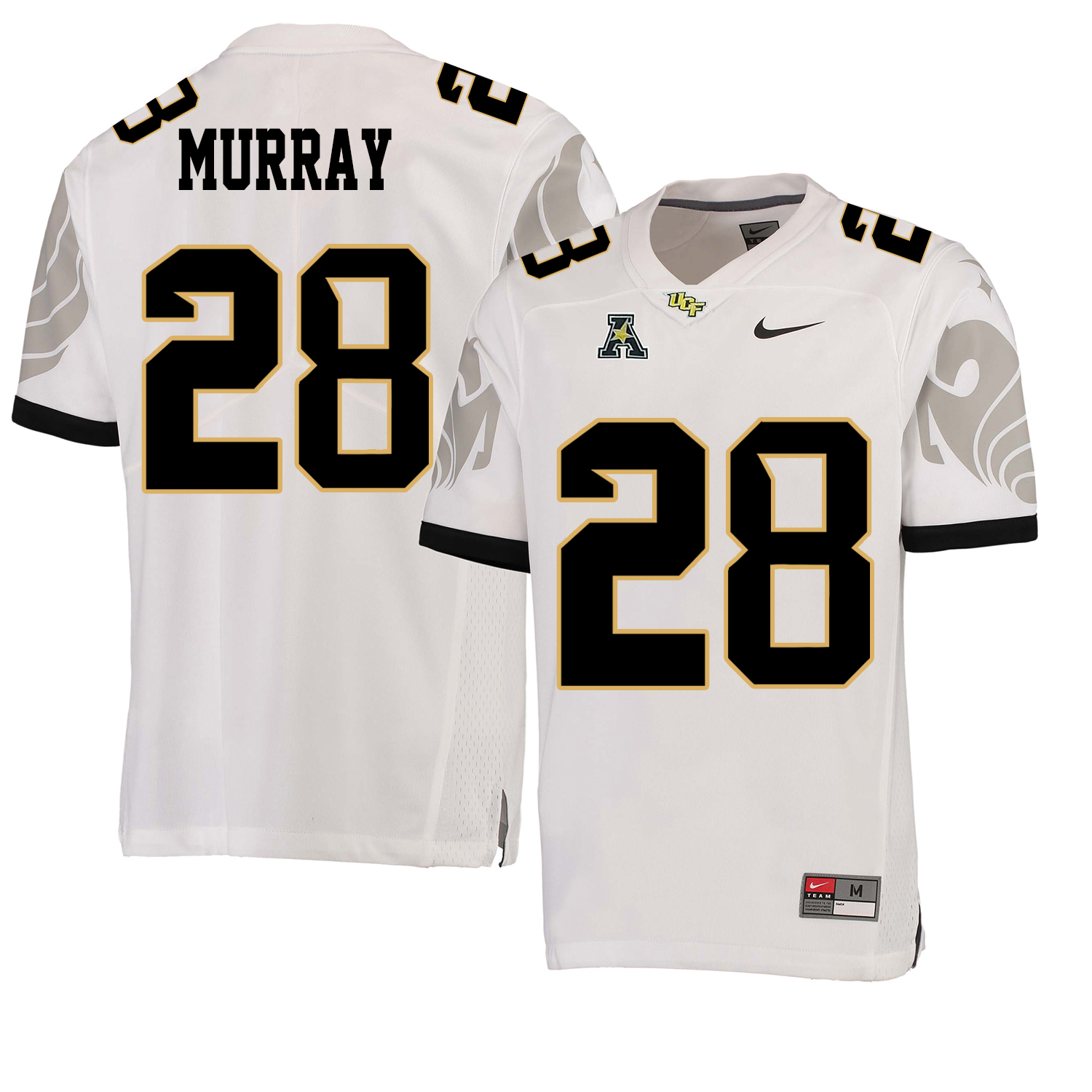 UCF Knights 28 Latavius Murray White College Football Jersey