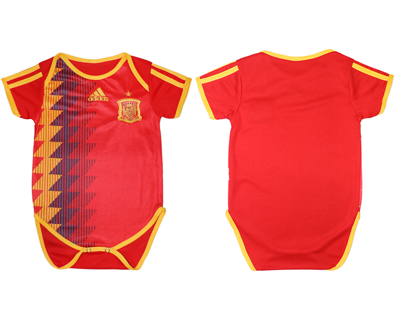 Espana Home Toddler 2018 FIFA World Cup Soccer Jersey