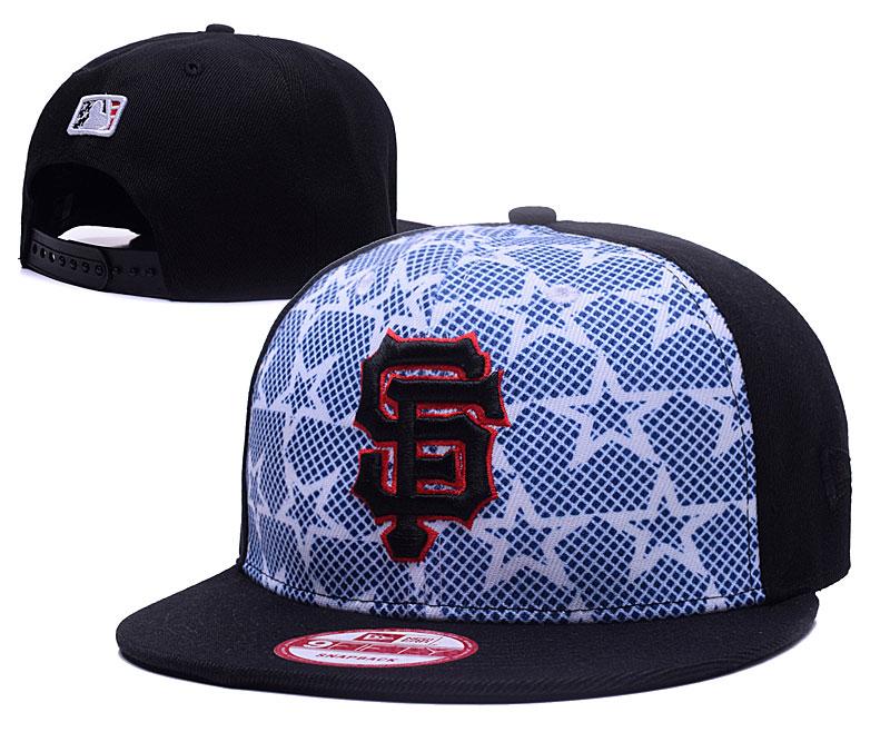 SF Giants Team Logo Adjustable Hat GS
