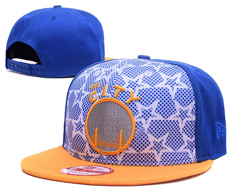 Warriors Team Logo Adjustable Hat GS