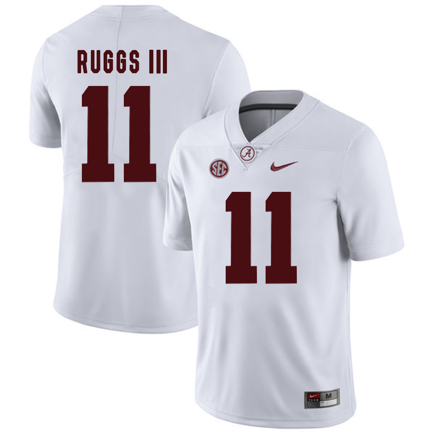 Alabama Crimson Tide 11 Henry Ruggs III White College Football Jersey