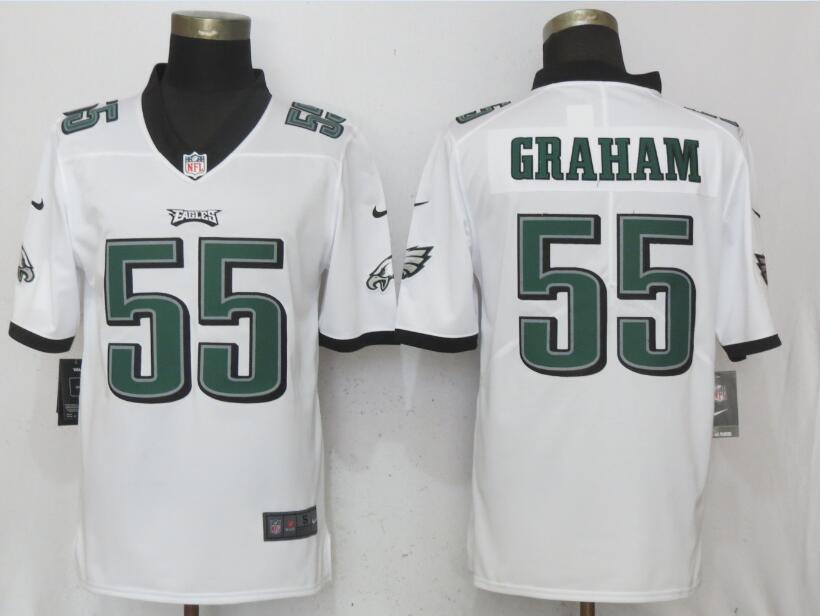 Nike Eagles 55 Brandon Graham White Vapor Untouchable Player Limited Jersey