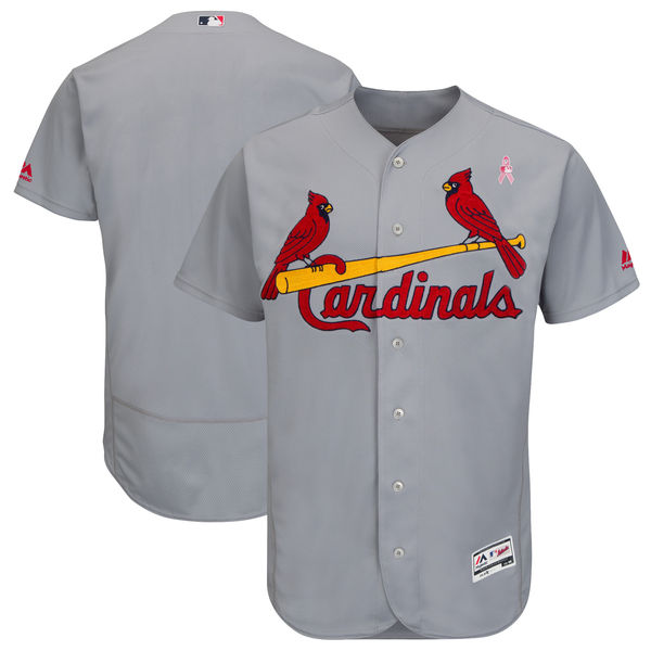Cardinals Gray 2018 Mother's Day Flexbase Jersey