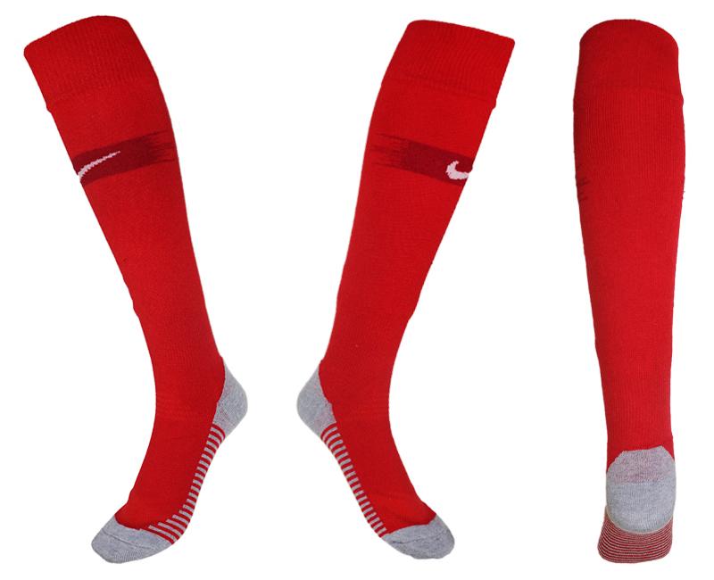 France Red Thailand Soccer Socks