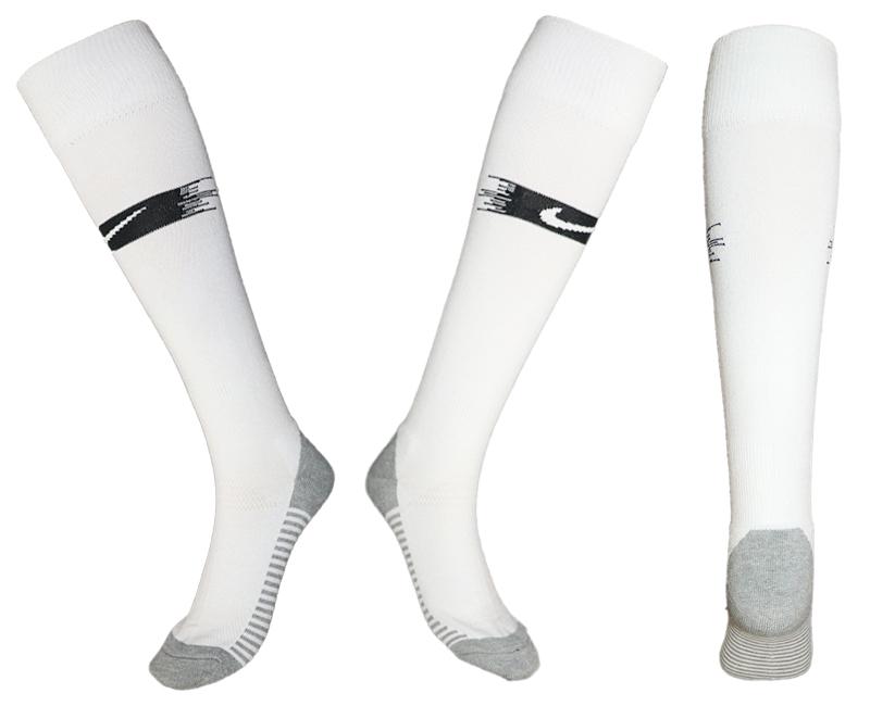 France White Thailand Soccer Socks