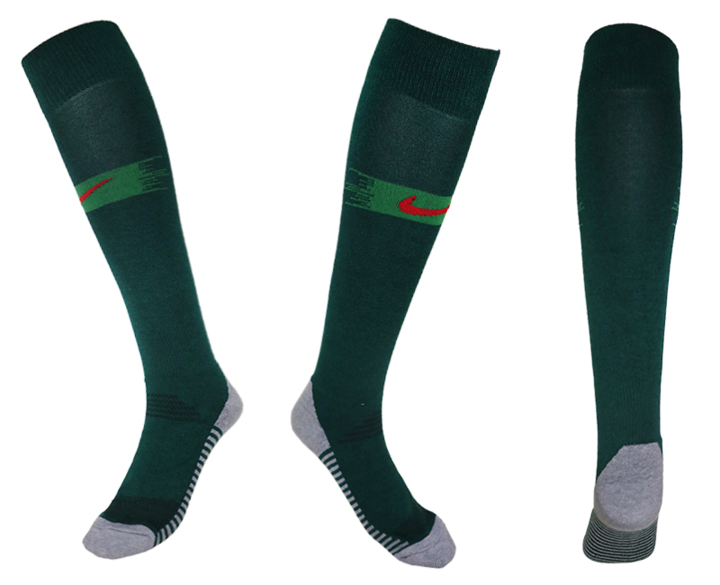 Portugal Green Thailand Soccer Socks
