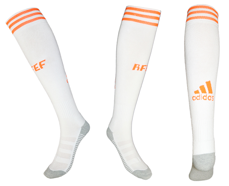 Spain White Thailand Soccer Socks