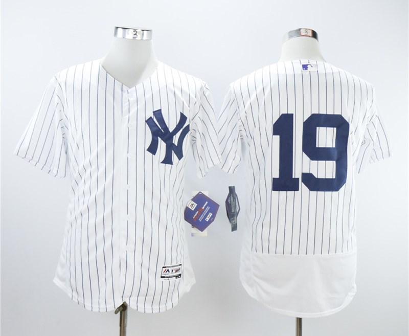 Yankees 19 Masahiro Tanaka White Flexbase Jersey