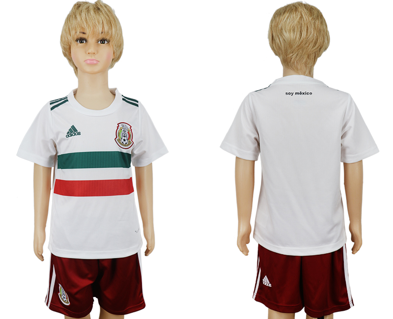 Mexico Away Youth 2018 FIFA World Cup Soccer Jersey