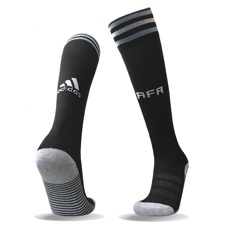 Argentina Away Youth 2018 FIFA World Cup Thailand Soccer Socks