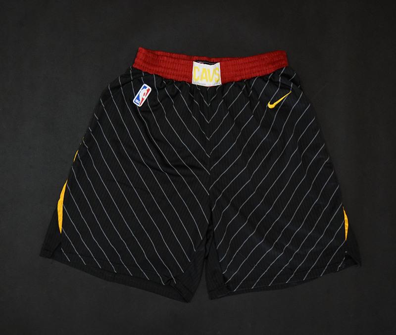 Cavaliers Black Nike Swingman Shorts