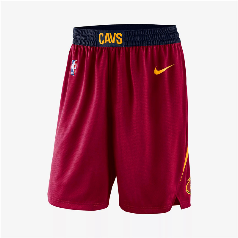 Cavaliers Red Nike Swingman Shorts