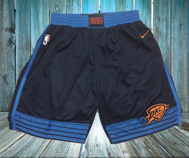 Thunder Navy Nike Swingman Shorts