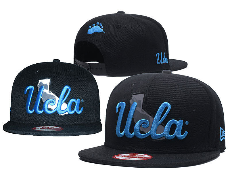 UCLA Bruins Team Logo Black Adjustable Hat GS