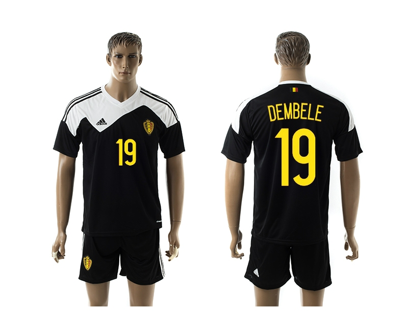 2014-15 Belgium 19 Dembele Away Jerseys