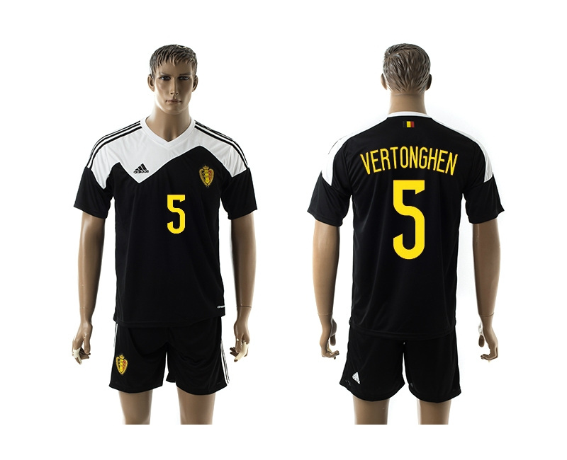 2014-15 Belgium 5 Vertonghen Away Jerseys
