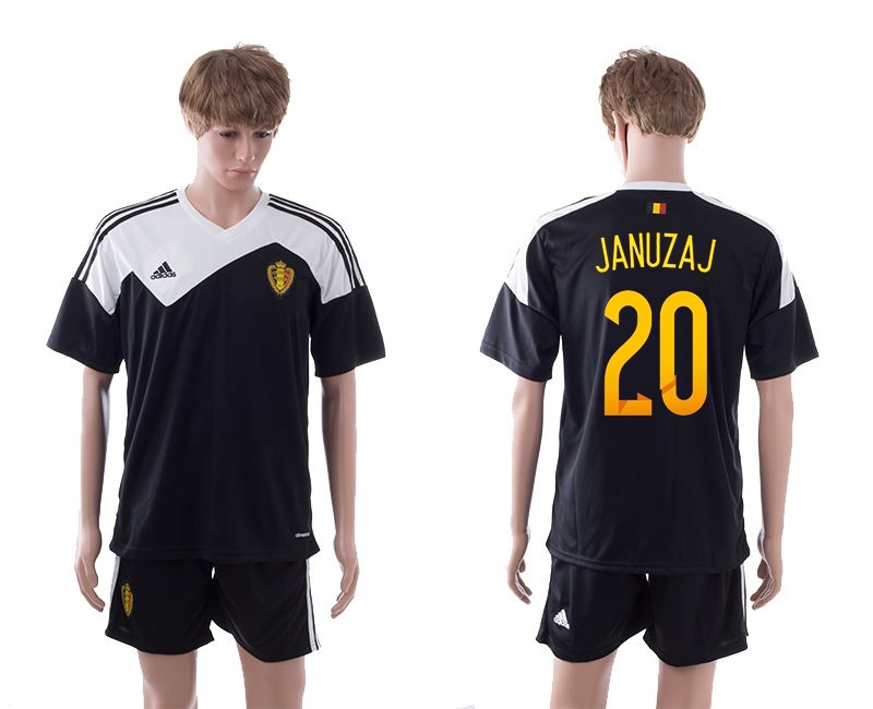2014-15 Belgium 20 Januzaj Away Jerseys