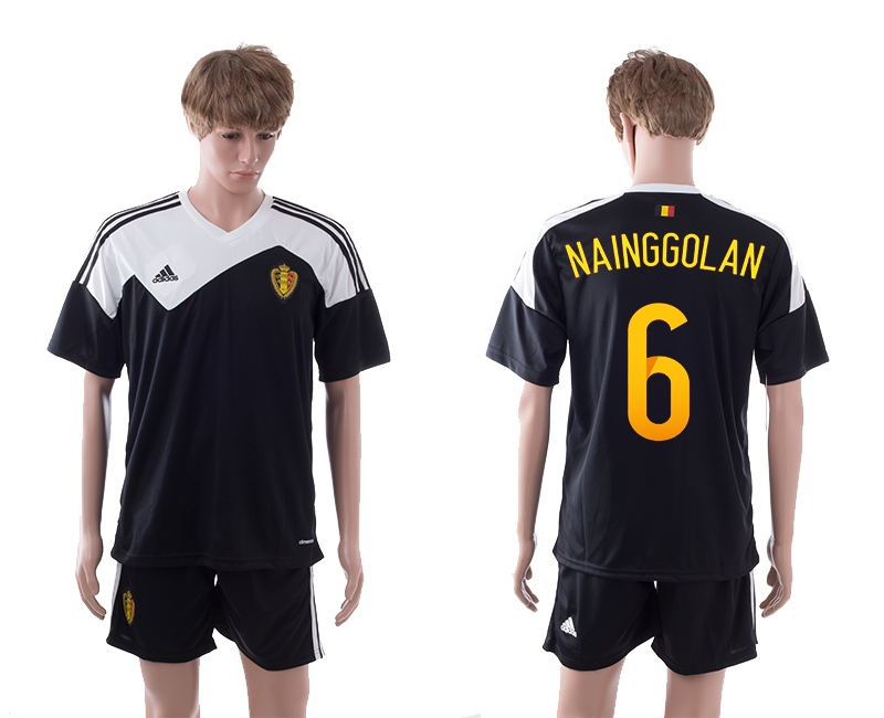 2014-15 Belgium 6 Nainggolan Away Jerseys