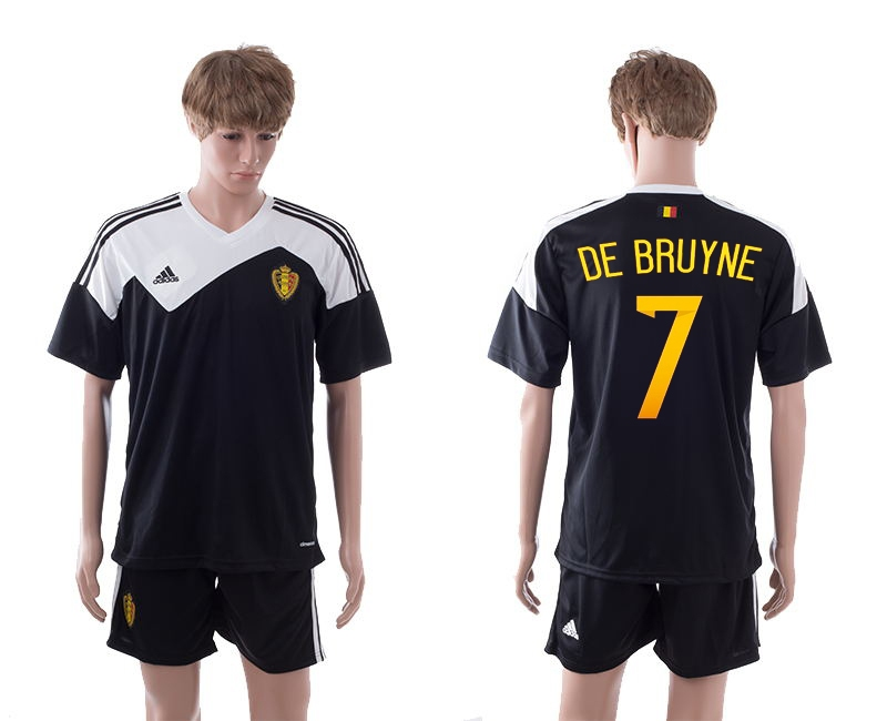 2014-15 Belgium 7 De Bruyne Away Jerseys