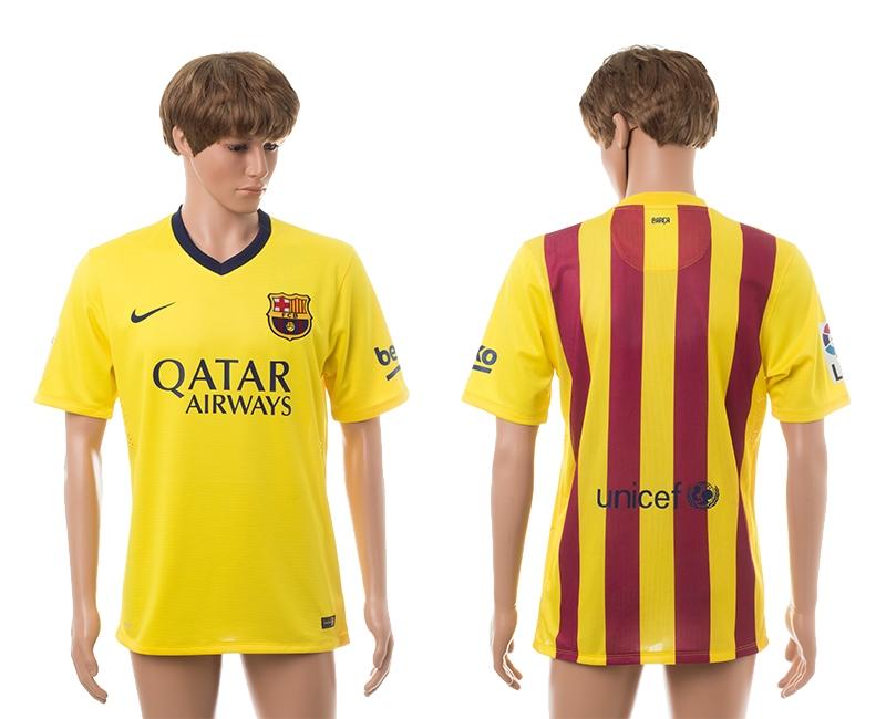 2014-15 Barcelona Away Thailand Jerseys