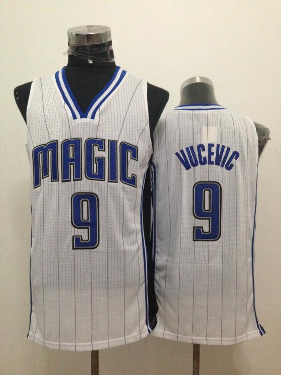 Magic 9 Vucevic White New Revolution 30 Jerseys