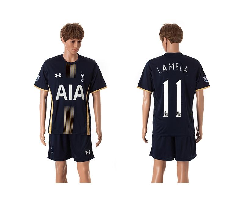 2014-15 Tottenham Hotspur 11 Lamela Away Jerseys