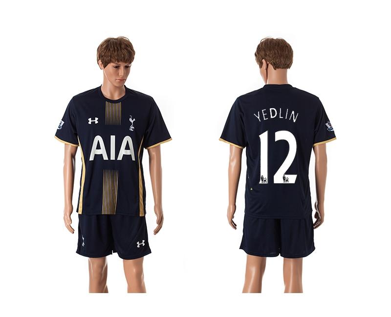 2014-15 Tottenham Hotspur 12 Yedlin Away Jerseys