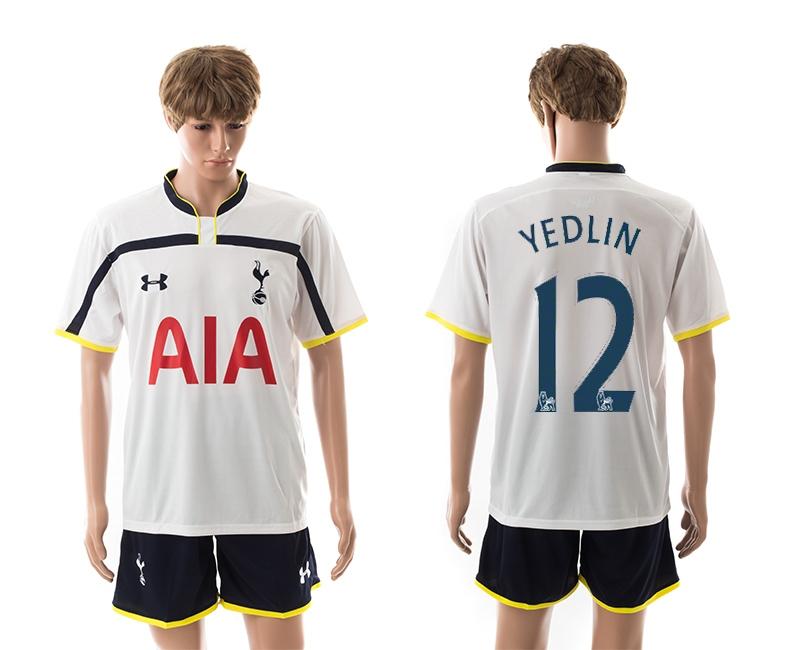 2014-15 Tottenham Hotspur 12 Yedlin Home Jerseys