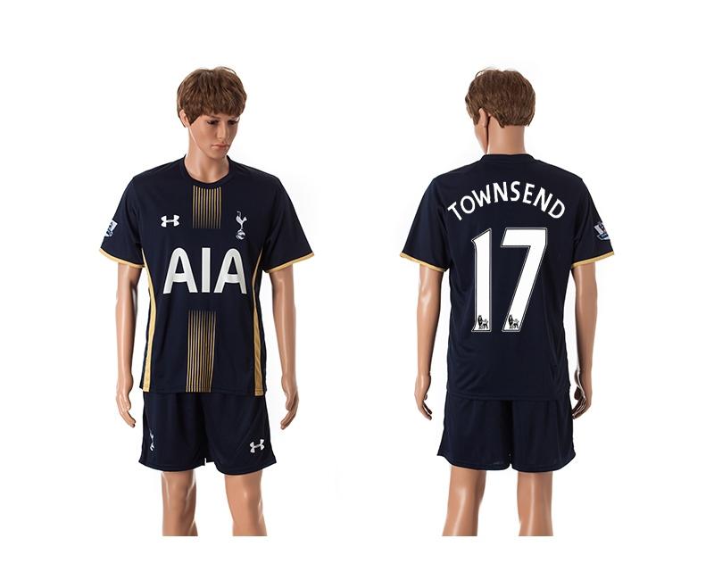 2014-15 Tottenham Hotspur 17 Townsend Away Jerseys