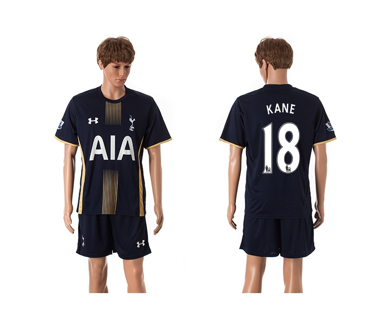 2014-15 Tottenham Hotspur 18 Kane Away Jerseys